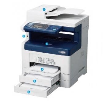 Xerox-DP355df 黑白多功能事務機
